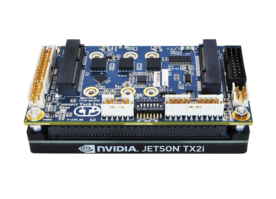 Elroy Carrier for NVIDIA® Jetson™ TX2/TX2i/TX1 - Connect Tech Inc
