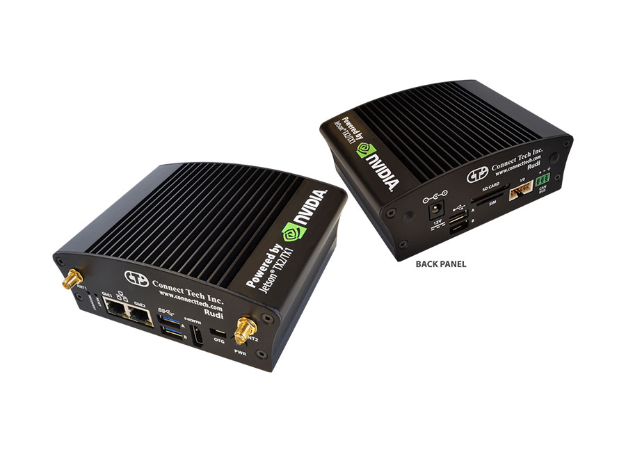 Rudi Embedded System with NVIDIA® Jetson™ TX2 or TX1
