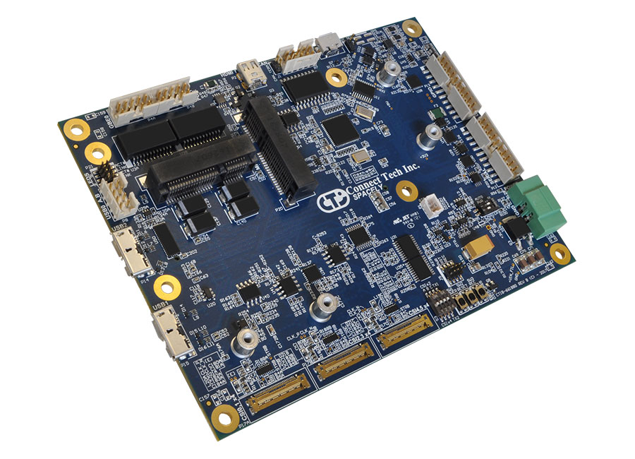 Spacely Carrier for NVIDIA® Jetson™ TX2/TX2i/TX1 - Connect