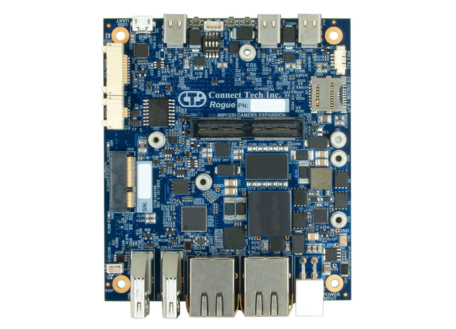 Rogue Carrier for NVIDIA® Jetson AGX Xavier™ - Connect Tech Inc
