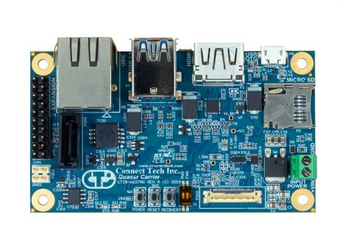 Orbitty Carrier for NVIDIA® Jetson™ TX2/TX2i/TX1 - Connect