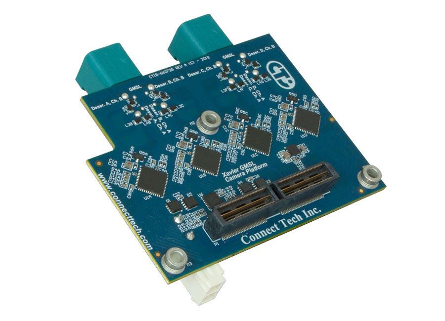 Xavier GMSL Camera Platform - Connect Tech Inc