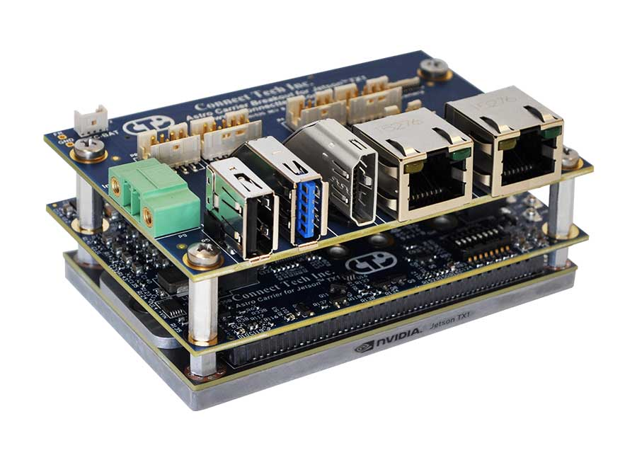 Astro Carrier for NVIDIA® Jetson™ TX2/TX2i/TX1 - Connect
